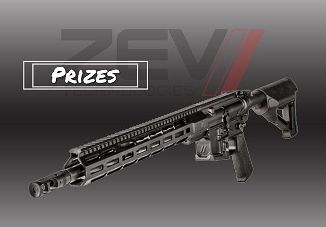 Shoot it Live sponsor @zevtech has donated a ZEV AR15 Billet rifle chambered in .223 wylde!