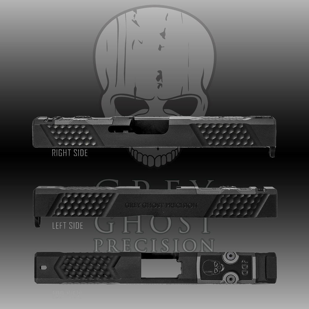 GREY GHOST PRECISION GLOCK SLIDE MSRP: $449.99 - THE WINNER OF THE GGP SLIDE WILL GET TO PICK THE SLIDE, MODEL AND GENERATION OF THEIR CHOOSING! More INFO