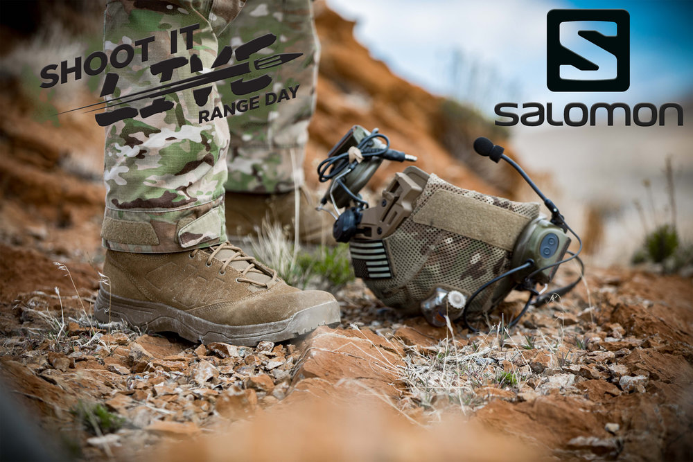 Salomon Boots  - Salomon has donated 5 boots for the General Raffel. Each Winner will will get to pick the boot directly from the Salomon Website!