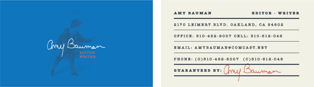 bw business card design 2