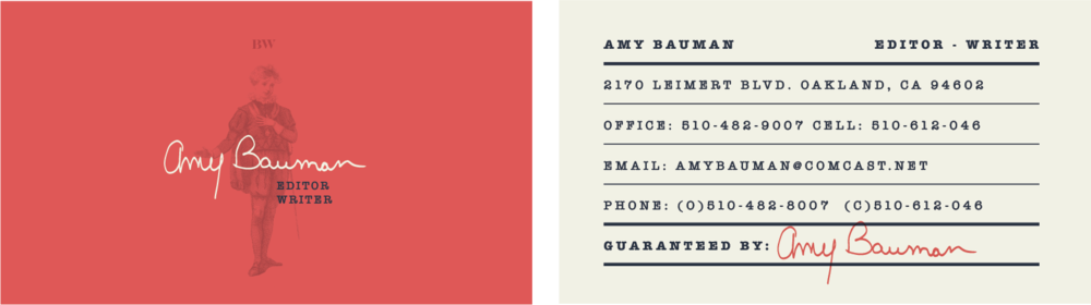 bw business card design 4