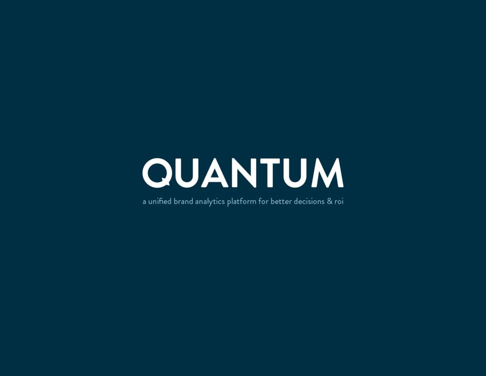 quantum brand identity design intro