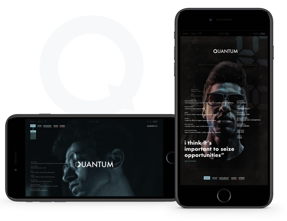 q mobile web design app