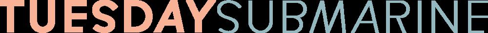 TuesdaySubmarine Wordmark