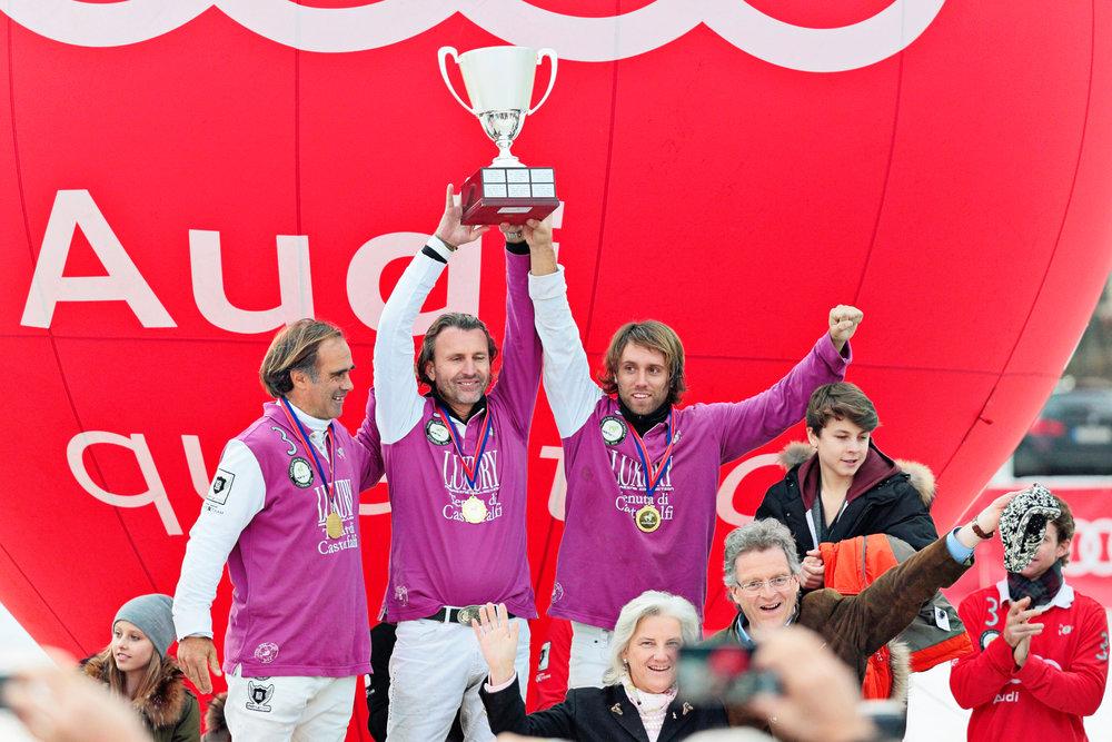 2014 Team Luxury/ Castelfalfi -Horacio Fernandez Llorente, Andy Golling (GER), Facundo Fernandez Lllorente (ARG)