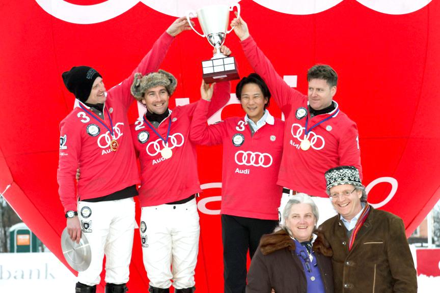 2013 Team Audi -Jonny Good (ENG), Tarquin Sothwell (ENG), Richard Davis (ENG)