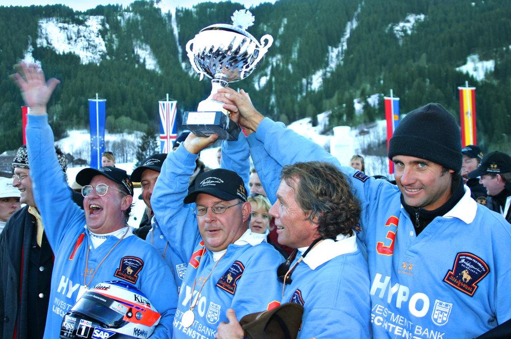 2005 Team Hypo Liechtenstein  -  Peter Slupinski (GER), Laurens Brouns (NED)/ Henk van Drutten (NED), Christian Bernal (ARG)