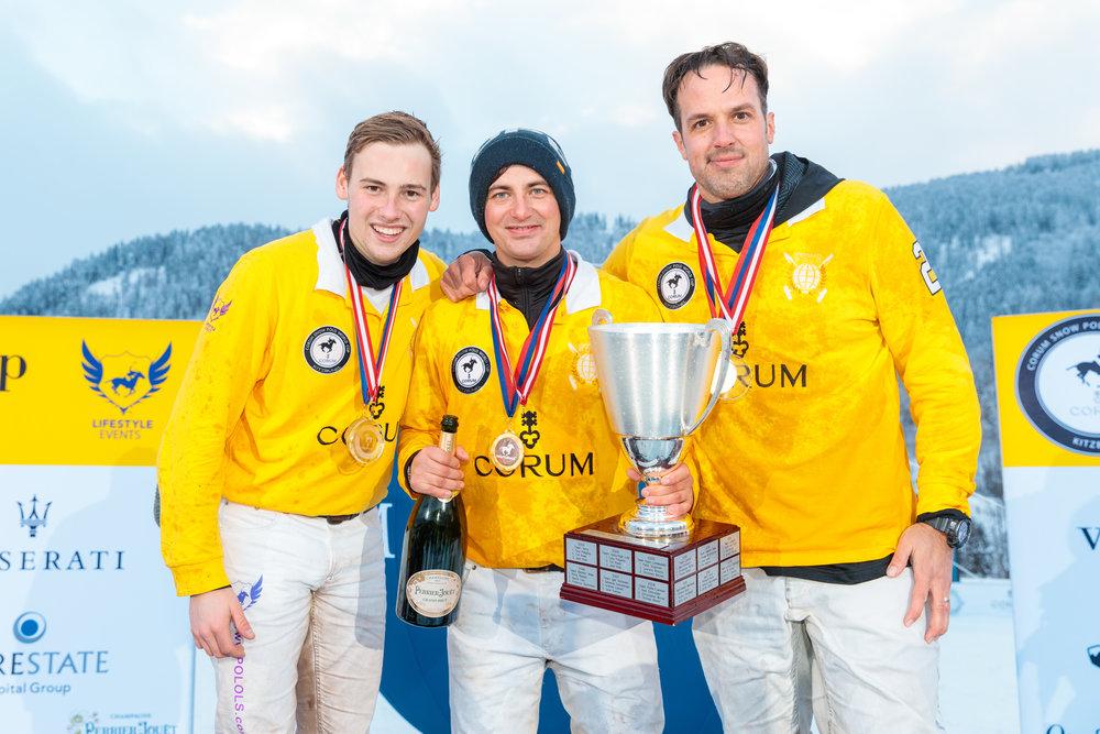 2017 Team Corum  - Lukas Sdrenka (GER), Patrick Maleitzke (Ger), Philip Sommer (GER)