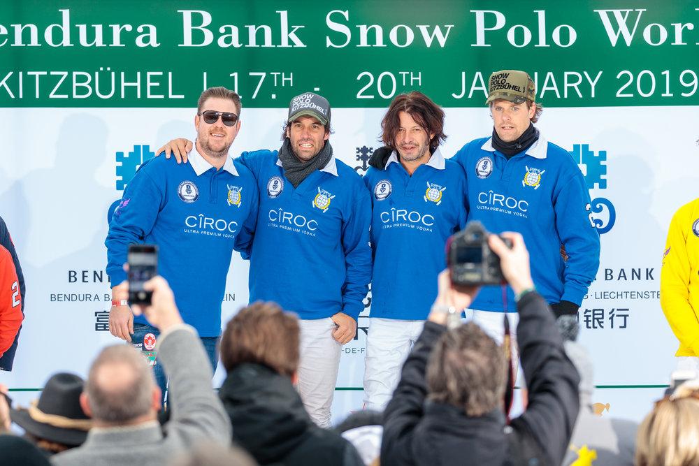 2019 Team Bendura Bank  - Valentin Novillo Astrada (ARG), Sebastian Schneberger (GER), Aki van Andel (NED)