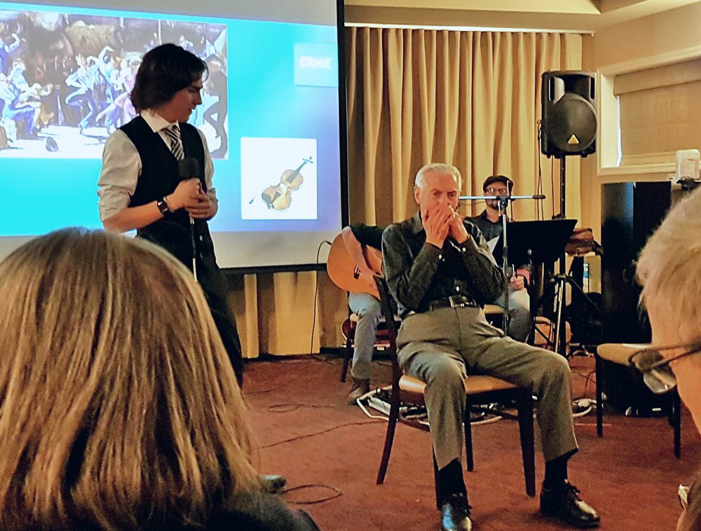Storytelling with Music Strikes a Chord by Garry Bridgewater