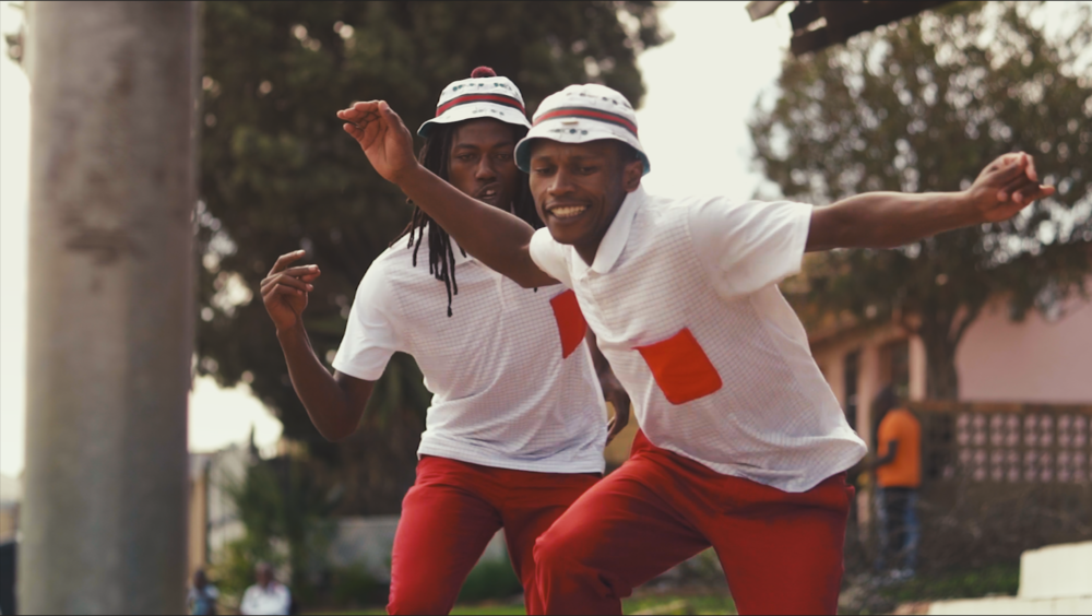 PANTSULA DANCERS IN JOHANNESBURG'S SOWETO TOWNSHIP. CREDIT: LURE