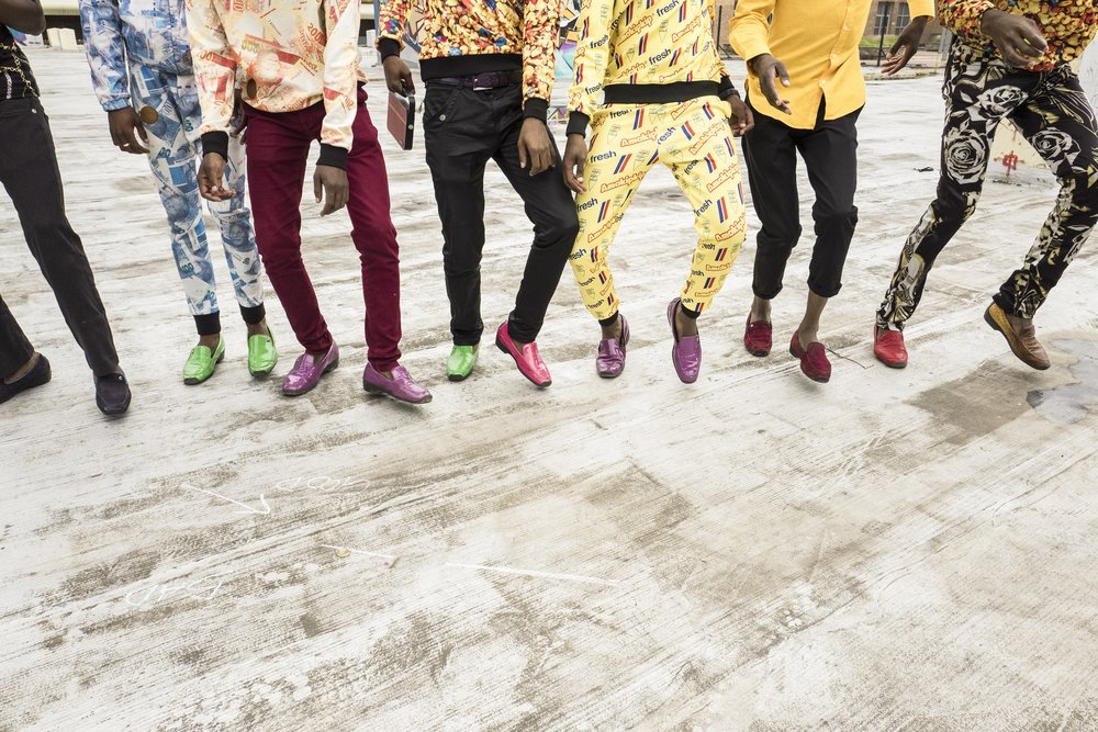 IZIKHOTHANE DANCE HAS EVOLVED FROM ITS PANTSULA ORIGINS. CREDIT: LURE