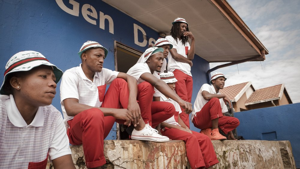 PANTSULA DANCERS ARE REGARDED AS TOWNSHIP HEROES IN SOUTH AFRICA. CREDIT: LURE