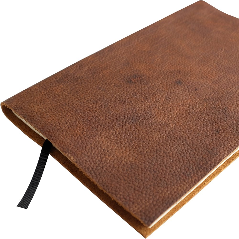 Stierbinder notebook - Take notes on your shamanic journey with this vintage leather notebook.(Photo Credit: Stierbinder)€25 on Stierbinder