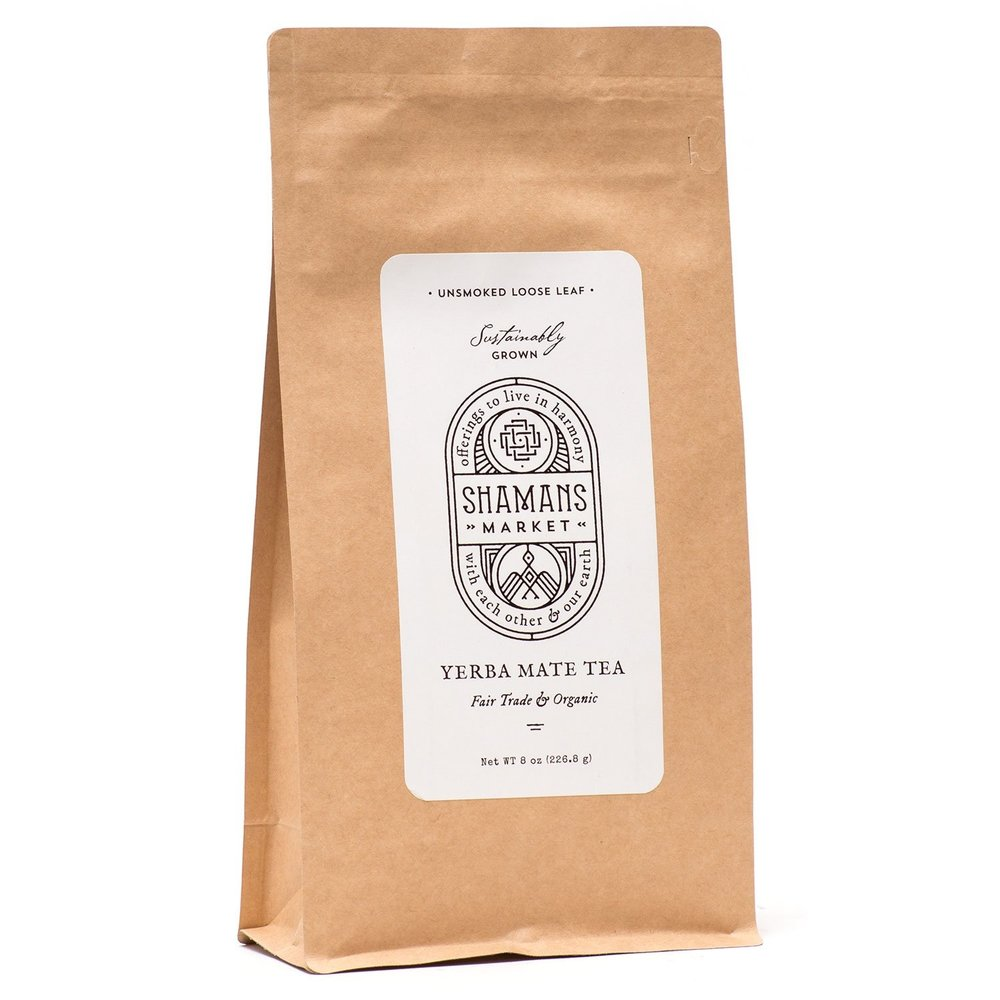 Yerba mate tea. - Taste the Amazon at home with organic tea containing twice as many antioxidants as green tea.(Photo Credit: Shaman's Market)€6 on Shaman's Market