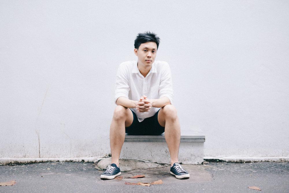 DJ KORN VARASARIN OUTSIDE HIS STUDIO IN BANGKOK .  CREDIT: GRAHAM MEYER FOR LURE