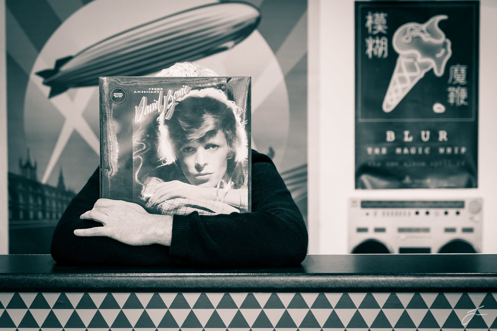 Classified Records , Dundalk, Co. Louth. Is it Neil Waters or Bowie? ©Julie Corcoran