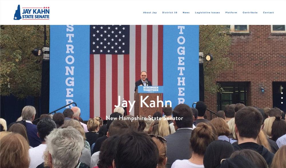 Kahn for Senate.com