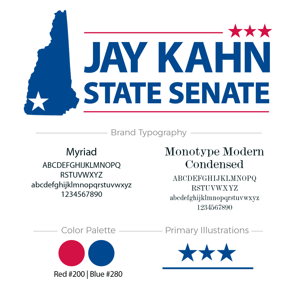 Jay Kahn for Senate Branding Board
