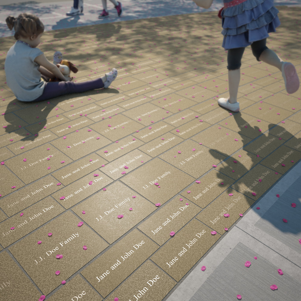 The Paver Campaign for the Cincinnati Children's Criticial Care Building.