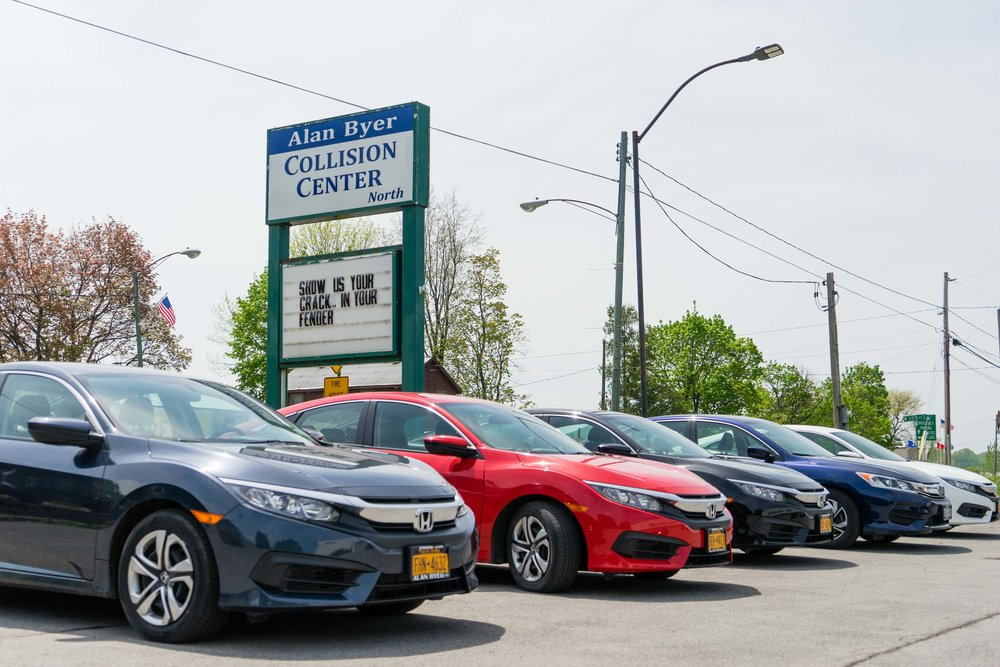 ASK ABOUT Our rental fleet & courtesy Vehicles -
