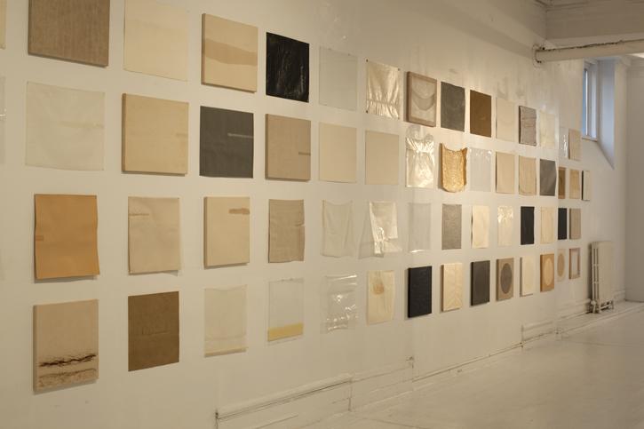 Dale Henry, Primer Sets, Clocktower Gallery installation - 2