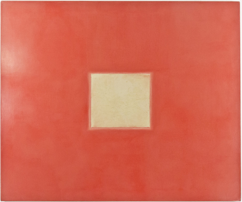 1964; acrylic and emulsion on canvas; 48 x 40""
