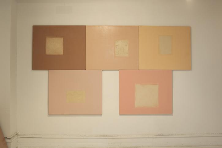 Clocktower Gallery installation, 2013