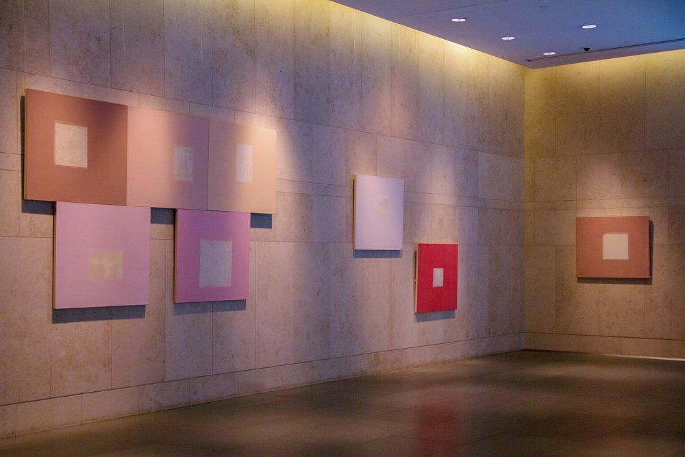 Jones Day lobby installation, 2013