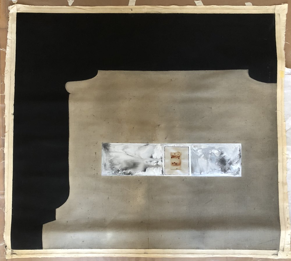 Untitled; July 1966; Oil and resin/emulsion on linen or duck; Item #257