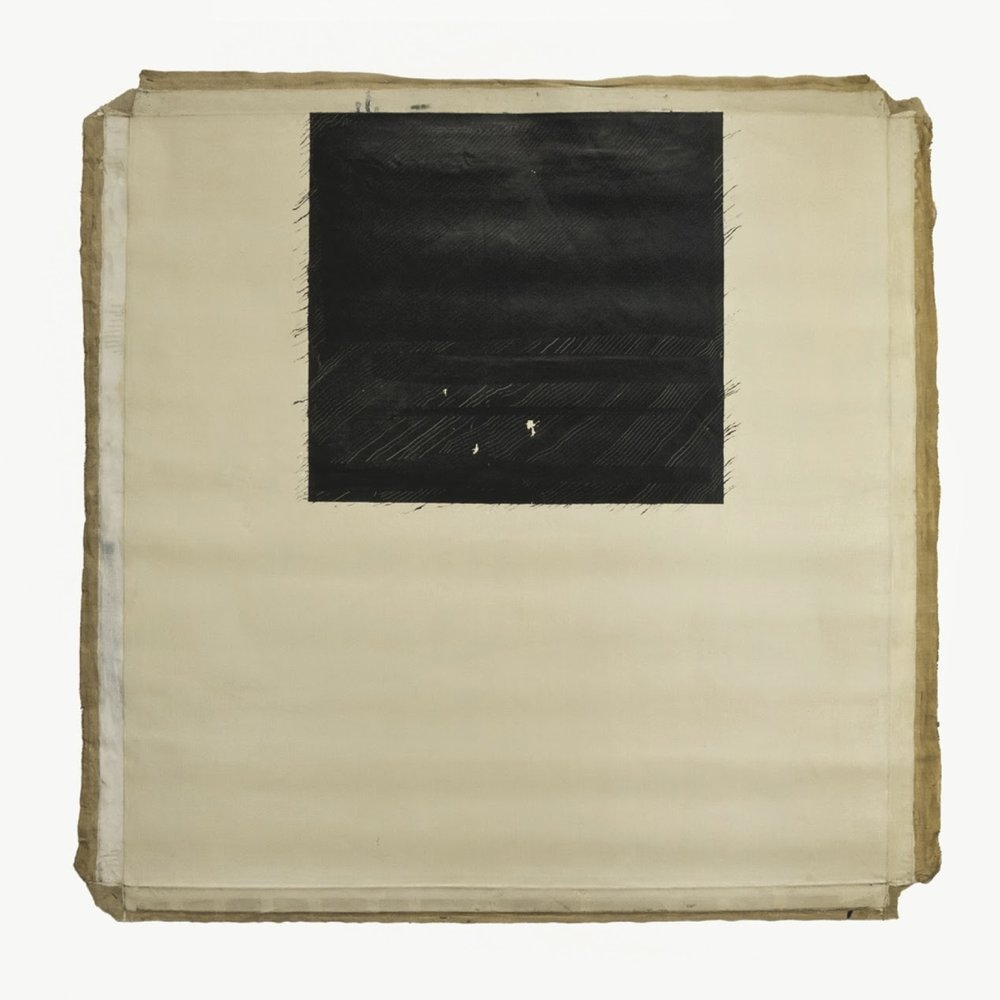 "Water Ocean; 1964/1965; Water series; Oil on canvas, 48x48""; Item #071"