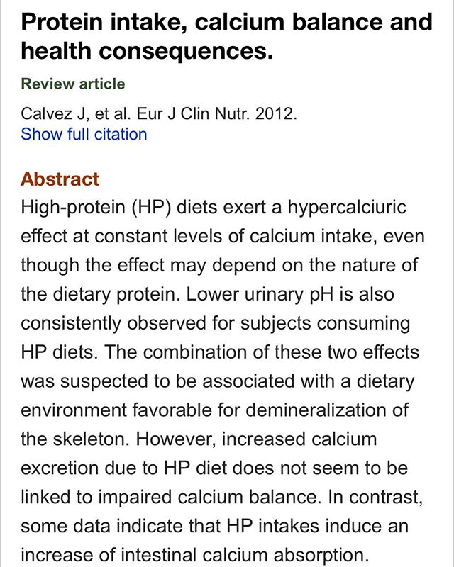 Does eating a lot of protein lead to bone loss via urinary acidification and hypercalcuria-the short answer is no! Intestinal absorption of calcium can increase by up to 300-400% on higher protein diets and is likely one of the reasons we have seen improvements in bone mineral density studies of people following a carnivore diet! #yes2meat #yes2strongbones #steakbones (link to study in my story)