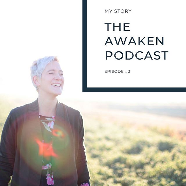 Today marks the end of launch week! This is episode 3 of The Awaken Podcast! : : Today I share with you my story. The story of my deepest pain, and the experience of awakening for me. ♥️ : : I believe that pain is one of the most powerful tools in awakening us. It is never fun and it can be so debilitating. But... it is the fire that can pull us forth into our greatest self. 🙏🏻 : : Link is in my bio 😘