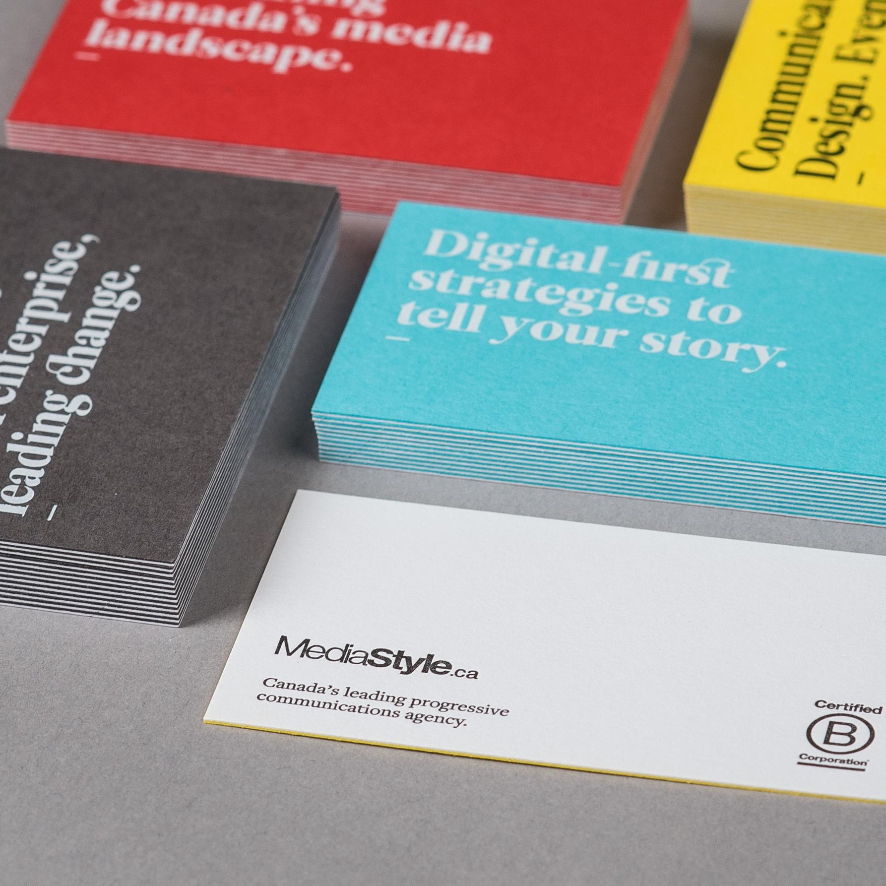 Everlovin press business cards various colourmoves