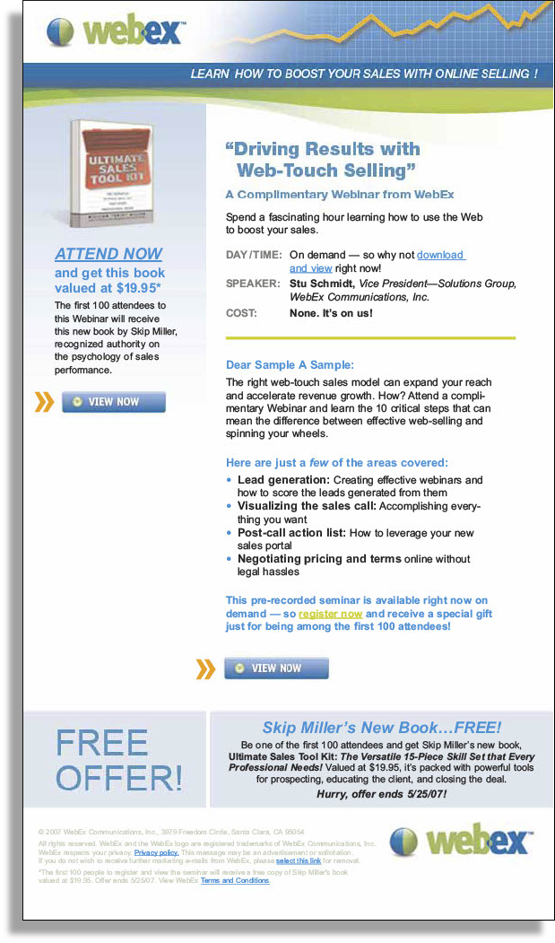 email samples thad wawro