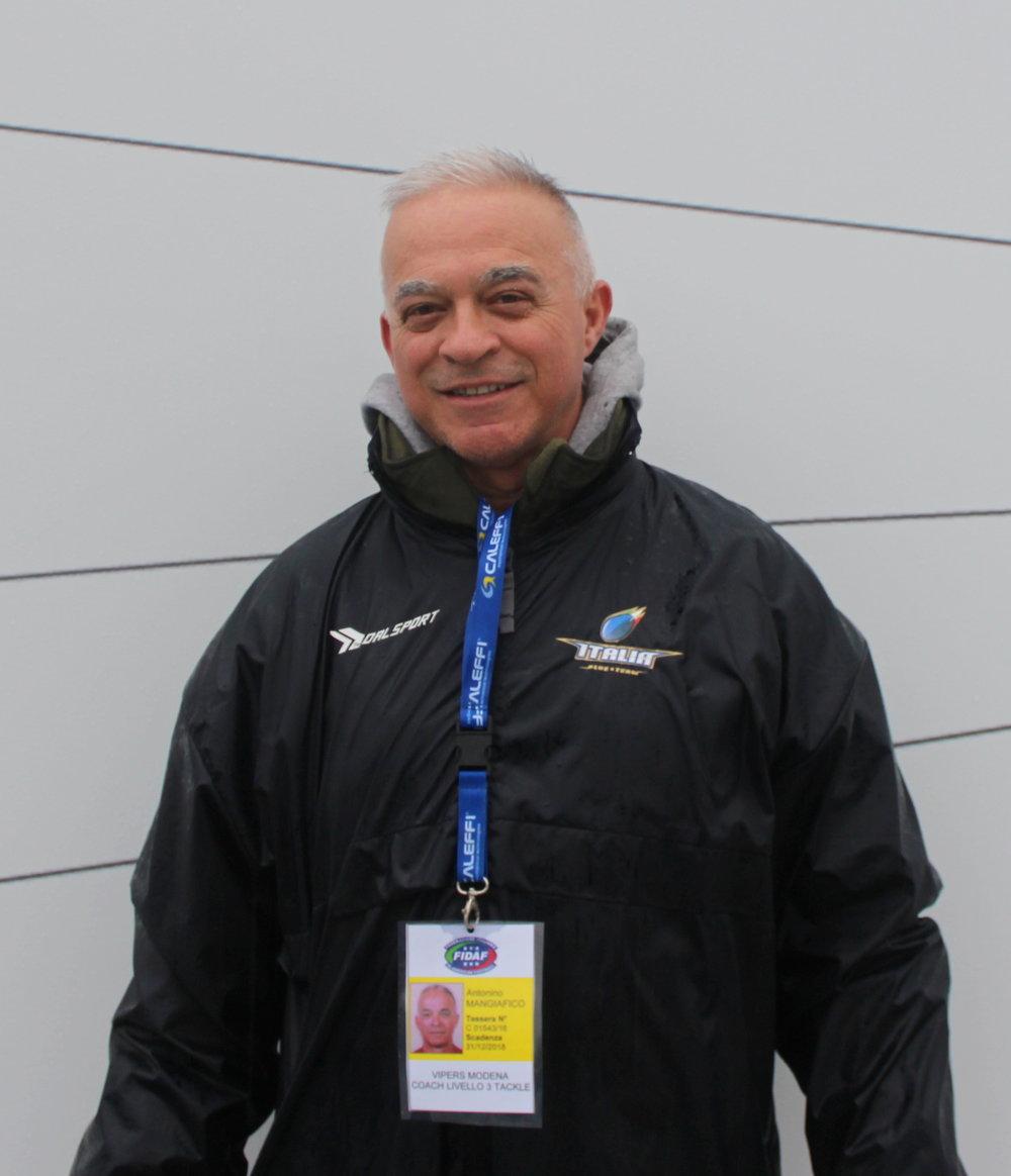 Antonio Mangiafico COACH DEFENCE