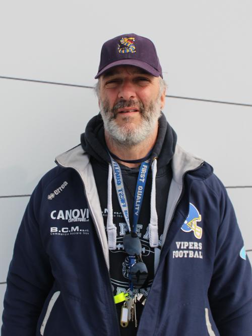 Fabio Guerzoni ASSISTANT COACH OL