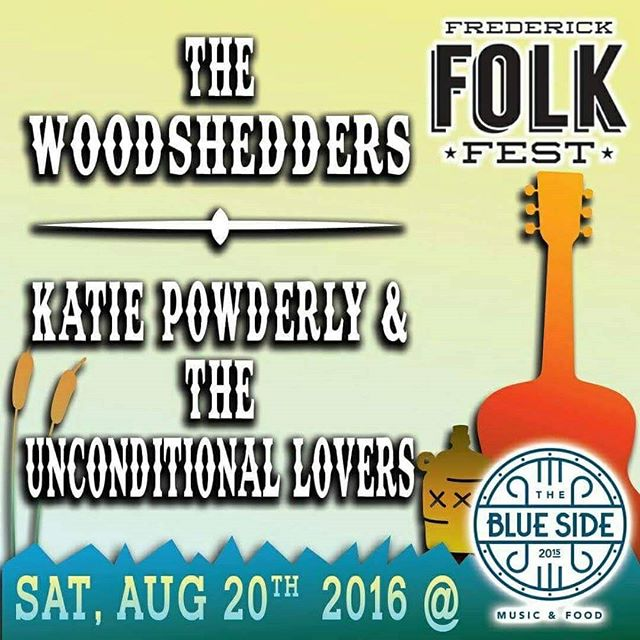 Tonight! @thewoodshedders & @KatiePowderly at @thebluesidetavern! Design by Oliver Lynch.