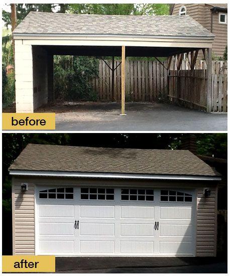 Convert Garage Door Whaciendobuenasmigas