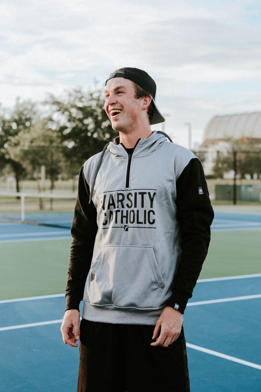 OUR NEWEST LAUNCH : THE 1/4 ZIP HOODIE- PERFORMANCE FLEECE BODY-COTTON SLEEVE