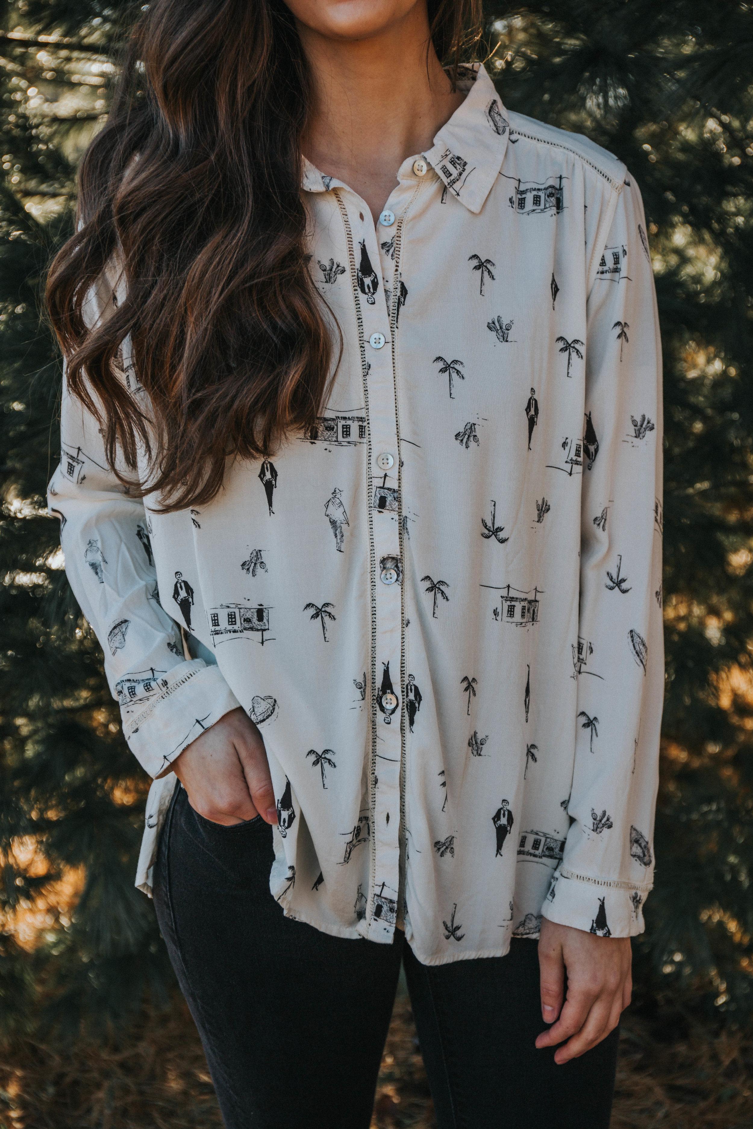 6872f6fbe1dc81 Women's Romantic Path Long Sleeve Shirt — Neighborhood Offshore