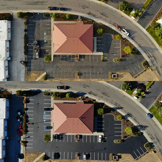 Here's a little eye candy for your break time browsing.... . . . #coveryourasphalt #wemakeasphaltpretty #sealcoat #sealcoating #cracksealing #asphaltsealing #parkinglotmaintenance #standoutfromthecrowd #proffesional #detail #contractorsofinsta #contractor #southernoregon #roguevalley #stateofjefferson #medfordoregon #klamathfalls #grantspass