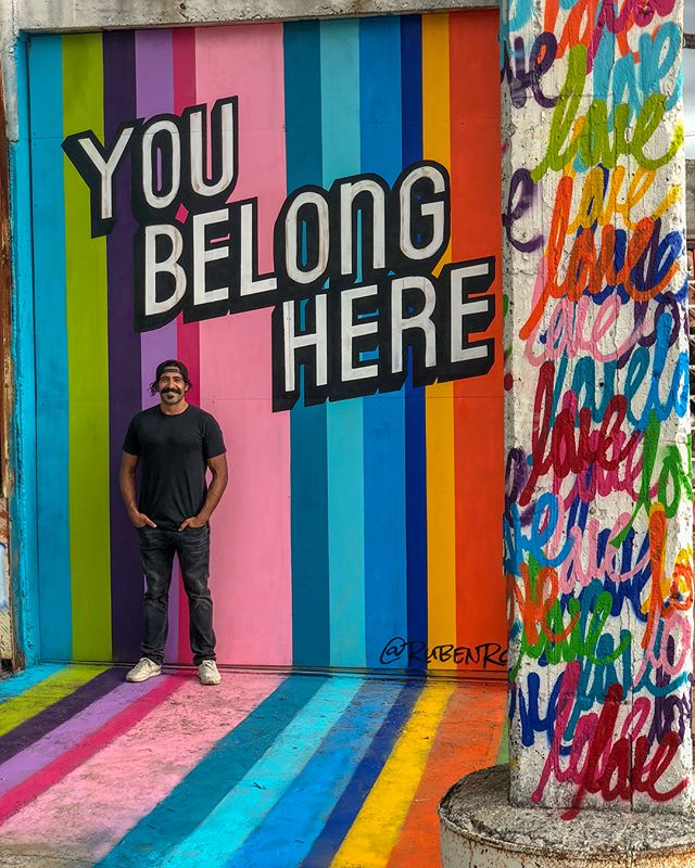 It's easy to question our belonging, worth/value, life... The truth is that each and every one of you belong here and bring so much value to those around you. Never doubt your existence. ⠀⠀⠀⠀⠀⠀⠀⠀⠀ Thank you to @jondotleo @essexmoderncity for bringing  me out to to visit and leave some paintspiration in San Antonio, TX. Swipe through and check out the full venue. .⠀⠀⠀⠀⠀⠀⠀⠀⠀ #rubenrojas #beautifyearth #sanantonio #streetart #impermanentart #youbelonghere #motivation #motivateyourself #inspire #essexart