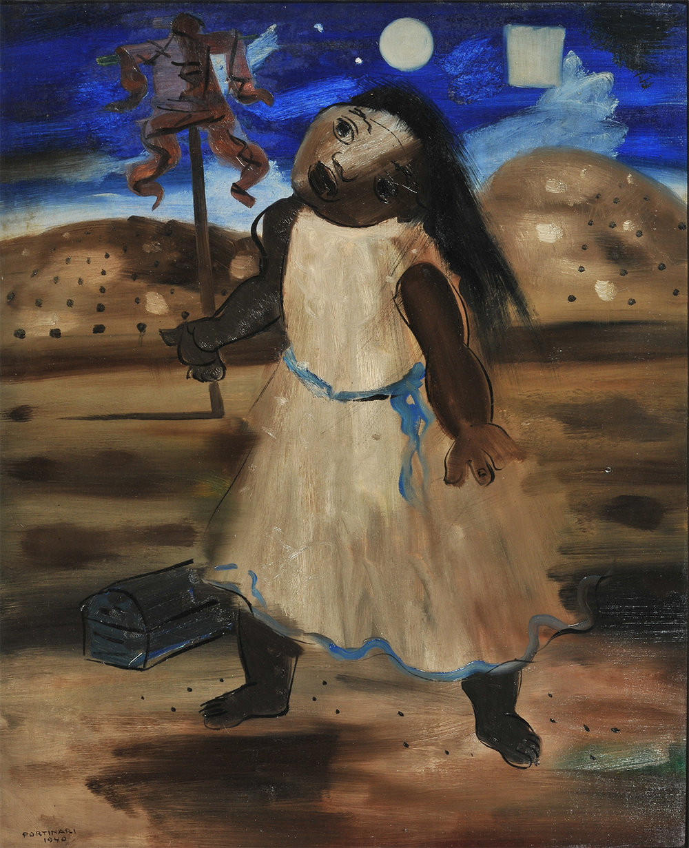13. Candido Portinari,  Scarecrow  c. 1940, The Mercer Art Gallery.  The Art of Diplomacy - Brazilian Modernism Painted For War , 2018. Embassy of Brazil London