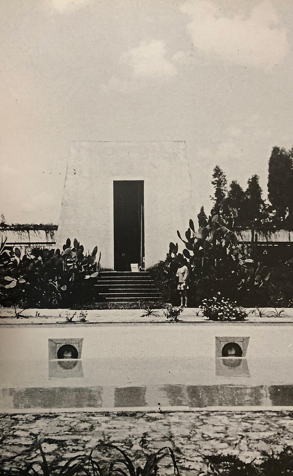 20. Flávio de Carvalho,  Casa da Fazenda Capuava , 1938. CEDAE Archive Universidade de Campinas - UNICAMP - SP