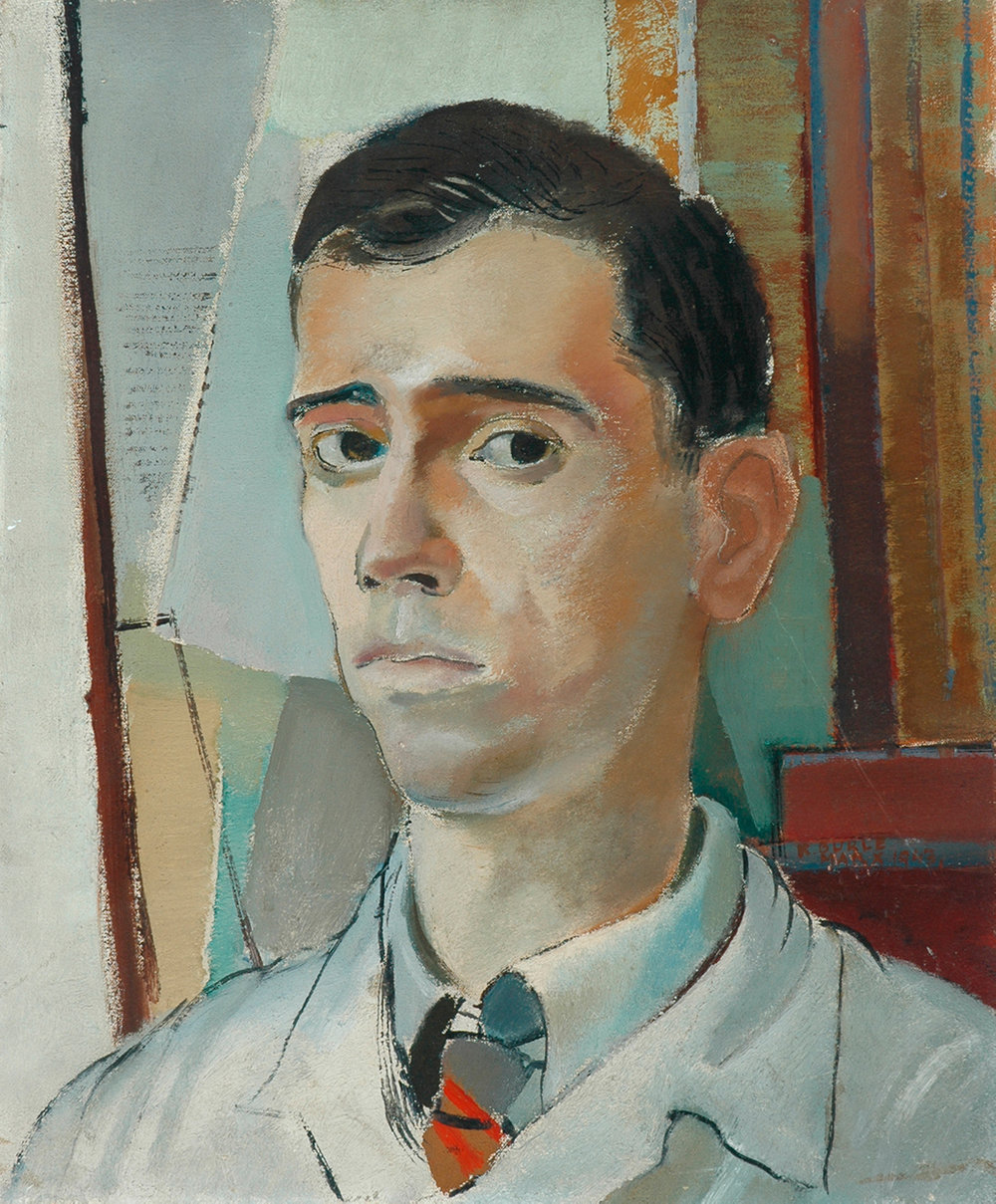 26. Roberto Burle Marx,  Portrait of a young man , n. d., Kirklees Museums and Galleries.  The Art of Diplomacy - Brazilian Modernism Painted For War , 2018. Embassy of Brazil London