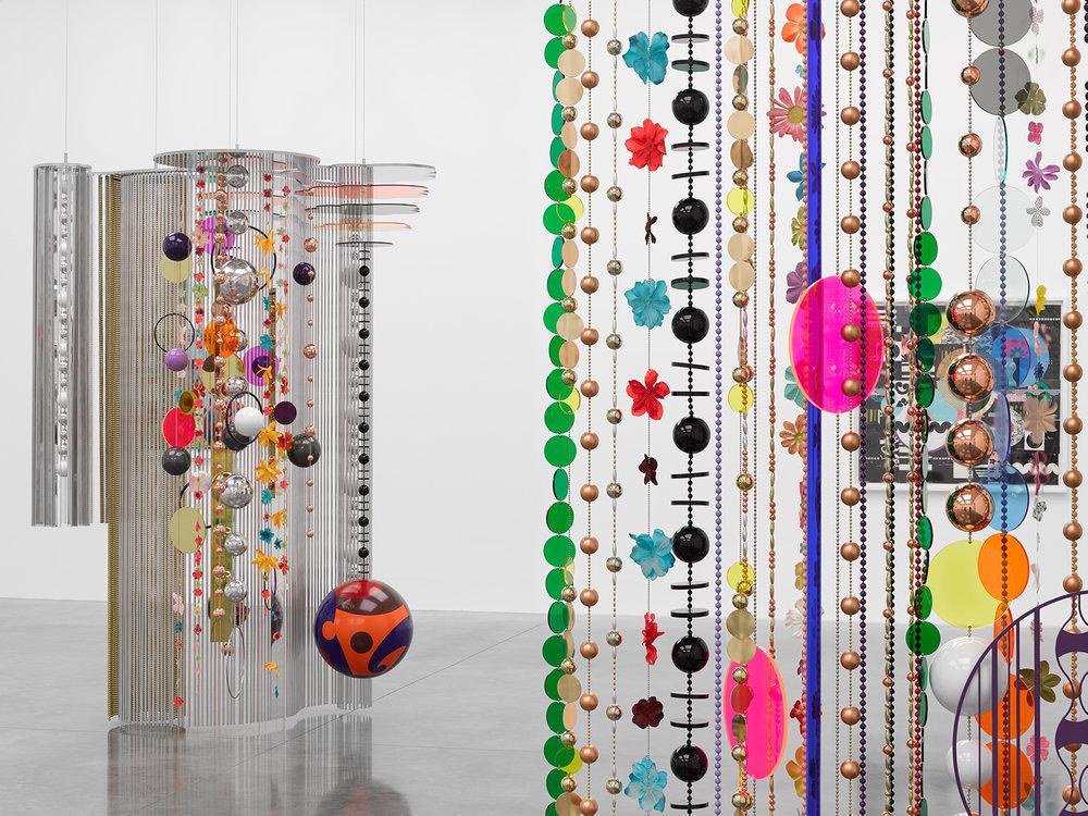 30. Beatriz Milhazes,  Rio Azul show,  2018, White Cube Gallery, London