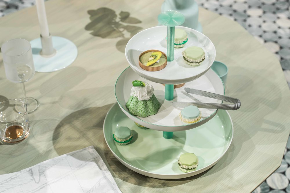 Time for Tea  installation at Fortnum & Mason, Scholten & Baijins. Photo by Charles Emerson.