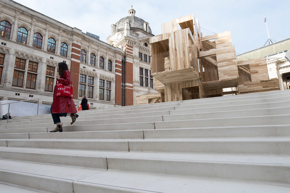 MultiPly  by Waugh Thistelton Architects. Courtesy of London Design Festival.