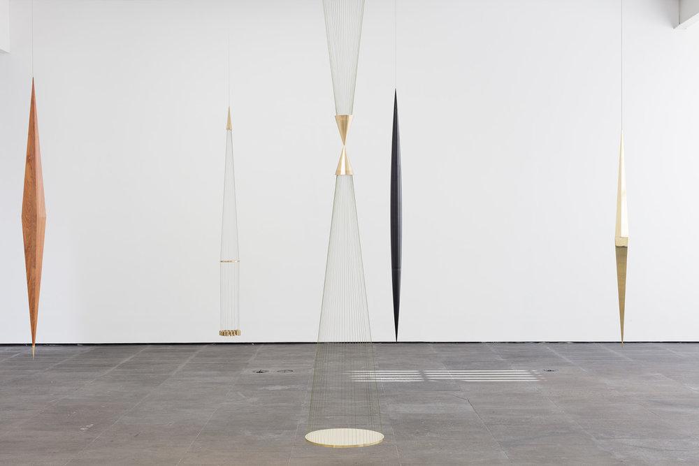 15.  Asterismos , Artur Lescher, 2018. Galería OMR, Mexico City. Image: Enrique Macías. Courtesy of Galería OMR.